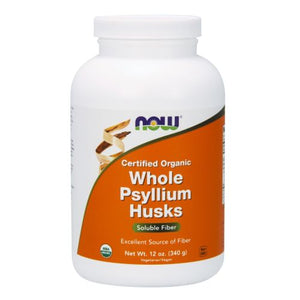Psyllium Husk Whole 12 oz by Now Foods (2587268350037)