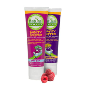 Toothpaste Cavity Zapper Groovy Grape Gel 5 oz by Natural Dentist