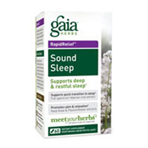 Sound Sleep 120 Caps by Gaia Herbs (2587270545493)