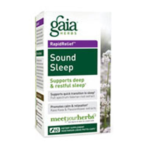 Sound Sleep 120 Caps by Gaia Herbs