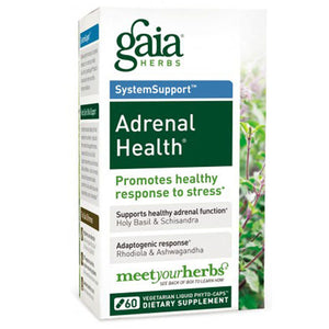 Adrenal Health 60 Caps by Gaia Herbs