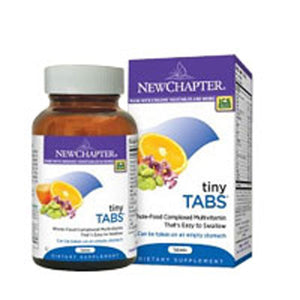 Tiny Tabs Multivitamin 192 Tabs by New Chapter (2587271692373)