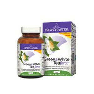 Green & White Tea Force 60 Vcaps by New Chapter (2587272347733)
