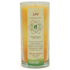 Candle Chakra Jar Love 11 Oz by Aloha Bay