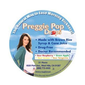 Preggie Pop Drops Container 21 CT by Three Lollies