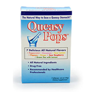Queasy Pops Assorted Flavors 7 CT by Three Lollies