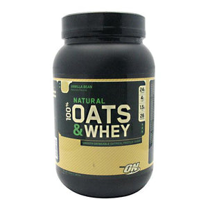100% Natural Oats & Whey Milk Chocolate by Optimum Nutrition (2587275067477)