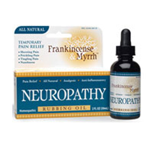 Rubbing Oil Neuropathy 2 oz by Frankincense & Myrrh