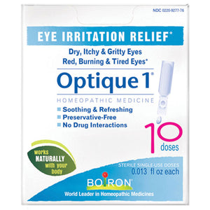 Optique 1 Eye Drops Eye Irritation 10 Dose by Boiron (2583976968277)