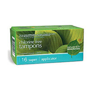 Tampon Applicator Super 16 ct by Seventh Generation