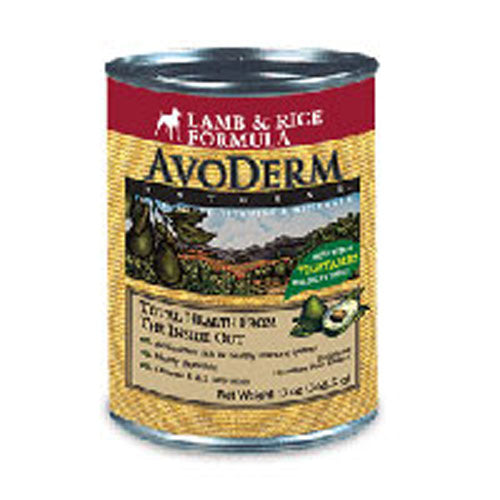 Canned Dog Food Lamb & Rice 13 oz by Avoderm