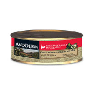 Canned Cat Food Chicken 5.5 oz by Avoderm (2587277819989)