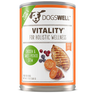 Vitality Chicken & Sweet Potato Stew 13 oz(case of 12) by Dogswell (2587278278741)