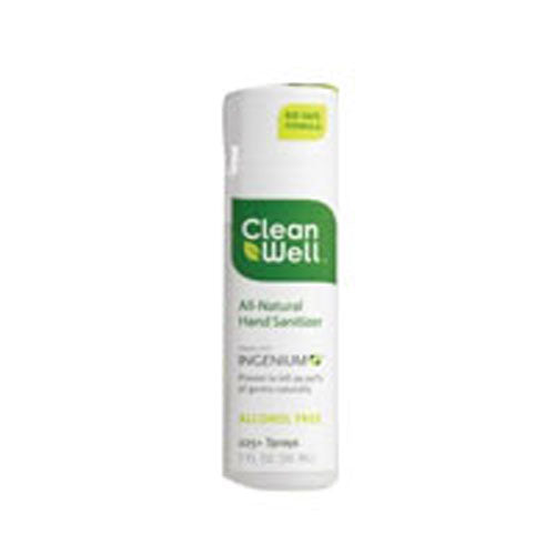 Hand Sanitizer Spray Alcohol Free 1 oz by CleanWell
