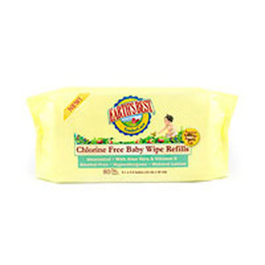 Baby Wipes Refill 72 ct(case of 12) by Earth's Best  (2587278671957)