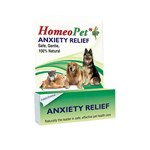 Anxiety Relief 15 ml by HomeoPet Solutions (2589087989845)