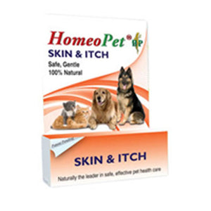 Skin and Itch Relief 15 ml by HomeoPet Solutions (2587278737493)