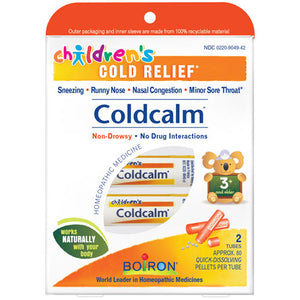 Cold Calm for Children 1.5 oz 2 Tubes by Boiron