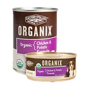 Organix Organic Canned Formula for Dogs Adult Chicken & Organic Potatoes Adult 12.7 oz(case of 3) by Castor & Pollux (2587280277589)