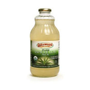 Aloe Whole Leaf Juice 32 Oz by Lakewood Organic