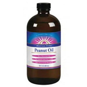 Peanut Oil 16 oz by Heritage Products (2587282505813)