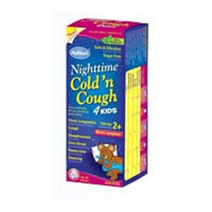 Night Time Cold N Cough 4 Kids 4 oz by Hylands (2587282767957)