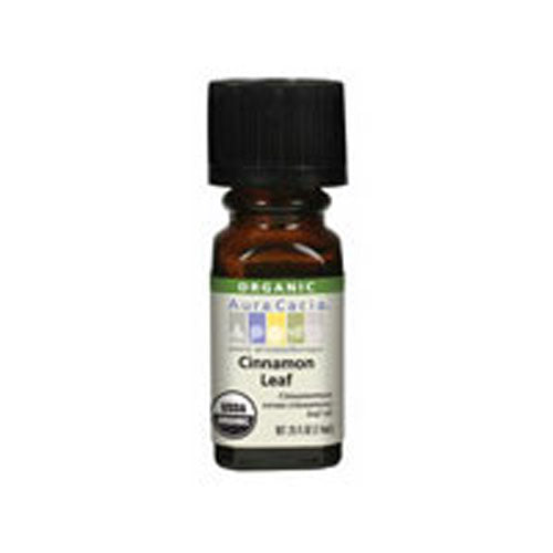 Essential Oil Cinnamon Leaf 0.25 oz by Aura Cacia