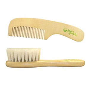Brush and Comb Set 2 Piece Set by Green Sprouts