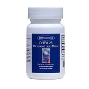 DHEA Micronized Lipid Matrix 60 Tabs by Nutricology/ Allergy Research Group