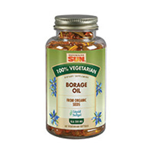 100% Vegetarian Borage Oil 60 ct by Health From The Sun (2587295678549)