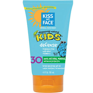 Kids Defense Mineral SPF 30 Sunscreen Lotion 4 oz by Kiss My Face