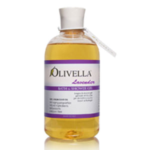 Bath & Shower Gel Lavender 16.9 oz by Olivella (2589107650645)