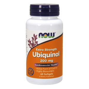 Ubiquinol Extra Strength 60 Softgels by Now Foods