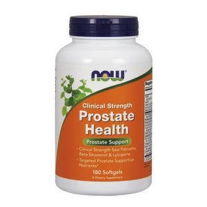 Prostate Health Clinical Strength 180 Softgels by Now Foods (2587296858197)