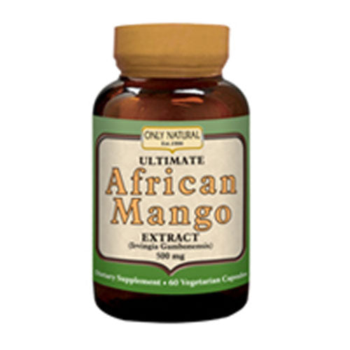 Ultimate African Extract Mango 60 Vcaps by Only Natural