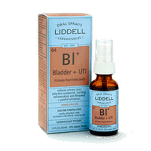 Bladder & UTI Spray 1 oz by Liddell Laboratories