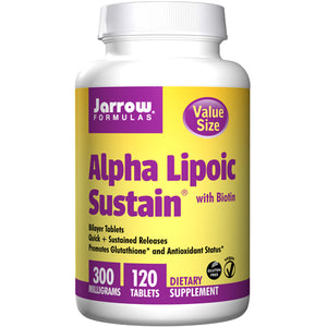 Alpha Lipoic Sustain 120 Tabs by Jarrow Formulas