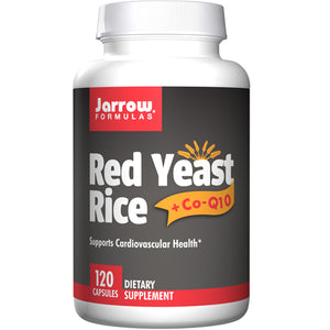 Red Yeast Rice + CoQ10 120 Caps by Jarrow Formulas (2587298168917)
