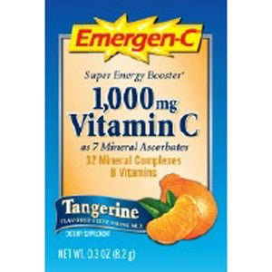 Alacer Emergen-C Tangerine, 30 packets by Alacer (2588659810389)