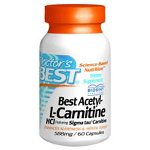 Best Acetyl L-carnitine 60c by Doctors Best (2584187207765)