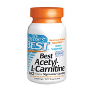 Best Acetyl L-carnitine 120 caps by Doctors Best (2584187240533)