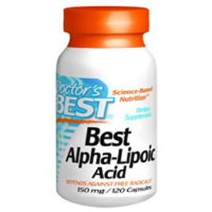 Best Alpha Lipoic Acid 120 Caps by Doctors Best (2584187404373)