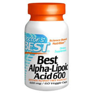 Best Alpha Lipoic Acid 60 Veggie Caps by Doctors Best (2588912779349)