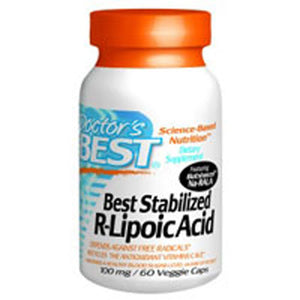 Best Stabilized R- Lipoic Acid 60 Veggie Caps by Doctors Best (2584187502677)