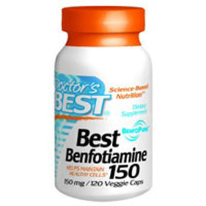 Best Benfotiamine 120 Vegegie Caps by Doctors Best