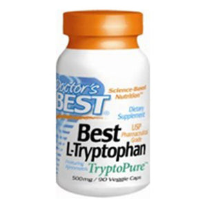 L-Tryptophan with TryptoPure 90vc by Doctors Best (2588913172565)