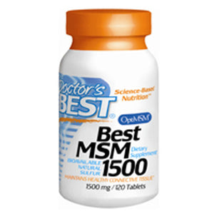 MSM with OptiMSM 120 Tabs by Doctors Best