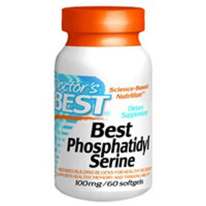 Best Phosphatidyl Serine 60 Softgels by Doctors Best