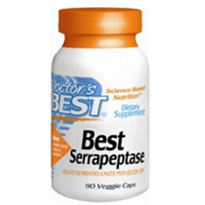 Best Serrapeptase 90 Veg Capsules by Doctors Best