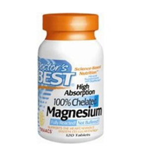 High Absorption Magnesium 120 Tabs by Doctors Best (2584188813397)